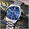 Đồng hồ nam dây thép không gỉ R-Ontheedge 6 kim quay (1)